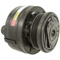 15-21736 Ac Delco A/c Compressor For Chevy S10 Pickup S-10 Blazer With Clutch
