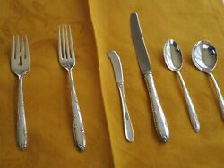 Towle Sterling Silver Flatware. Madeira Pattern. Seven 6 Piece Place Settings.