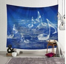 Music Notes Tapestry Wall Hanging Home Décor