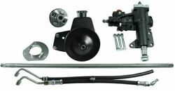 Borgeson Power Steering Conversion Kit - 65-66 Mustang W/ M/s And 289/302/351w V-8