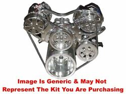 Vips - Turbo Trac Smoothie Vintage System - Sb Chevy Polished W/ Power Steering