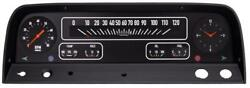 Black 1964-66 Chevy Truck Package Gauges - Classic Instruments - Ct64b
