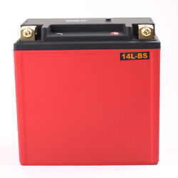 Lfp14l-bs Lifepo4 Motorcycle Battery For Harley-davidson 1200cc Xl Xlh Sportster