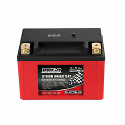 Dohon Lfp19bl-bs 650cca Motorcycle Lithium Battery Lifepo4 Replace Lead-acid