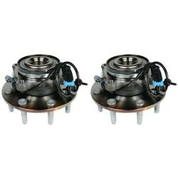 Set-acfw338 Ac Delco Set Of 2 Wheel Hubs Front Driver And Passenger Side New Pair