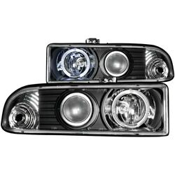 111015 Anzo Headlight Lamp Driver And Passenger Side New For Chevy S10 Pickup