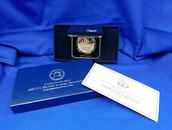 U.s. 2002 United States Military Academy Proof Commemorative Silver Dollar