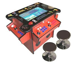 ✅ 4 Player Cocktail Arcade Machine🔥1162 Classic Games ✅ 22 Screen Cherry Track