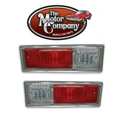 1968 1969 Nova Chevy Ii Tail Light Assembly Set Left And Right  In Stock