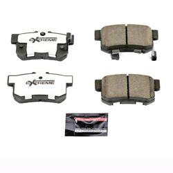 Z26-537 Powerstop Brake Pad Sets 2-wheel Set Rear New Coupe For Honda Civic Tl