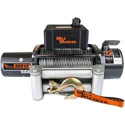 76-50251bw Mile Marker Winch New For F250 Truck F350 Ford F-250 Super Duty F-350