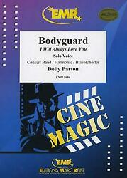 Bodyguard I Will Always Love You Concert Band Harmonie Music Set Score And Parts
