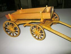 3- Wood Horse Carriage, Wood Vintage Covered Wagon, Wood Horse Cart