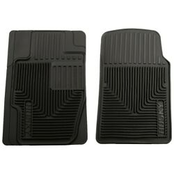 51111 Husky Liners Floor Mats Front New Black For Chevy Mercedes 3 Series 318
