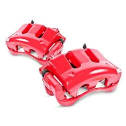 S7110 Powerstop 2-wheel Set Brake Calipers Rear Driver And Passenger Side For 320