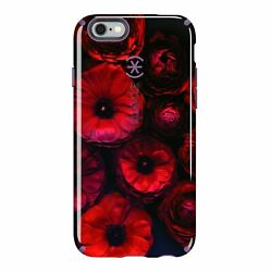 Lot Of 75 Speck Candyshell Inked Case Iphone 6 Plus 6s Plus Moody Bloom/purple
