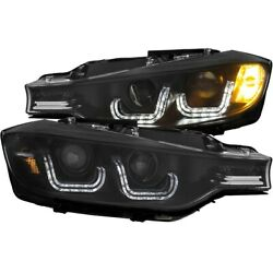 121506 Anzo Hid Headlight Lamp Driver And Passenger Side New For 320 328 Hid/xenon