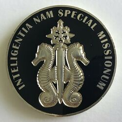 Jsoc Smu Special Missions Intelligence Challenge Coin - Isa Cag Devgru Cia