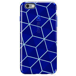 50-pack Speck Candyshell Inked Case Iphone 6 6s Plus Stacked Cube/raincoat Blue