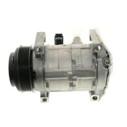 15-21593 Ac Delco A/c Compressor New With Clutch For Cadillac Dts 2006-2011