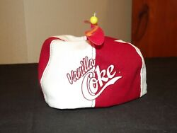 Vanilla Coke Coca Cola Beanie With New England Patch Mwt