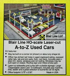 Blair Lines 197 Ho Scale A-z Used Car Lot Building Kit W/metal Details Free Ship