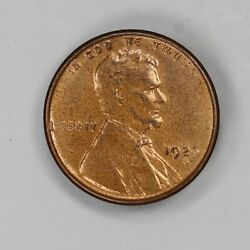 1926 S Lincoln Wheat Cent Penny 1c Choice Bu Red Sharp Strike Details 7395