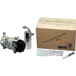 9631922 Gpd Kit A/c Ac Compressor New For Explorer With Clutch Ford Ranger Sport