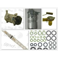 9613252 Gpd A/c Ac Compressor Kit New For Chevy Express Van Savana With Clutch