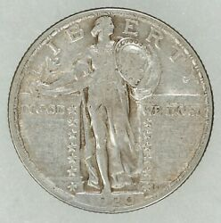 1920 Standing Liberty Quarter 25c Silver Xf Extra Fine Circulated 8853