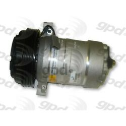 6511384 Gpd A/c Compressor New For Chevy Olds Le Sabre Ninety Eight With Clutch