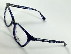 New TURA BY LARA SPENCER LS104 Navy Women#x27;s Eyeglasses Frames 53 17 140 $41.40