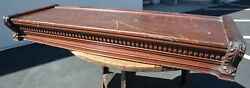 Globe Wernicke Ideal Mahogany Top Stacking Lawyer Bookcase Barrister Cabinet
