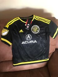 Adidas Columbus Crew Sc Mls Soccer Jersey Nwt Size Large Youth
