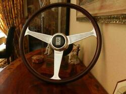 Rolls Royce Silver Shadow 1968 - 1976 Wood Steering Wheel Nardi 15 New Nos