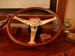 Bentley Steering Wheel Fit All Models From 1968 To 1989 Nardi 15 New