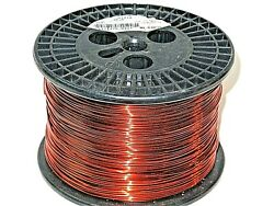 16 Awg Essex Magnet Wire Enameled Heavy Build 200 Degree Celsius 9.3 Lb Spool
