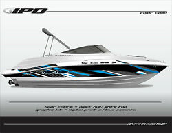Ipd Boat Graphic Kit For Yamaha 232 Limited Sx230 Ar230 Bk Design