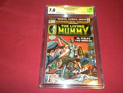 Supernatural Thrillers 8 Cgc 7.0 Ss Comic Signed Isabella 1st Elementals