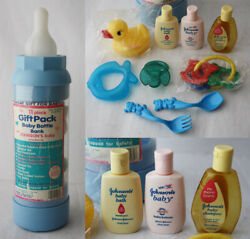Vintage 1996 Ralphco 11 Piece Babygift Pack Sanitoy Inc Johnsons Pacifier New