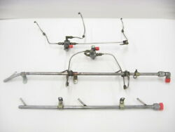 Manifold Injector Nozzle Vents With Dividers And Lines - Lycoming