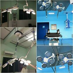 Led Cold Light Shadowless Ct- 4+4 Led Ot Light Surgical Operation Theater Light
