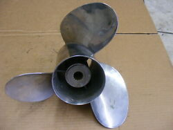 Suzuki Outboard Ss Propeller 14-1/4 X 22 Counter Lh 3-blades Boat 22-pitch