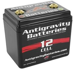 Antigravity Batteries 12 Cell Small Case Lithium-ion Motorcycle Batteries Ag-120
