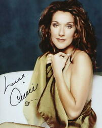Celine Dion Signed Autograph 8x10 Photo - Beautiful, Sexy, My Heart Will Go On