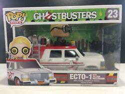 New Funko Pop Ecto-1 Ghost Busters Car 23