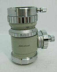 Carl Zeiss Amplival Pol Photo Monocular Tube With Bertrand Lens