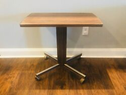 """Gusdorf Tv Stand Fits Vintage 70s 27"""" Television Rolling Cart Mcm Mid Century"""