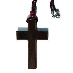 christian wooden wood cross for car $14.50