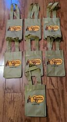 Lot of 7 Cracker Barrel Bags Small for a four pack of Soda $8.00